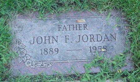 JORDAN, JOHN F. - Cook County, Illinois | JOHN F. JORDAN - Illinois Gravestone Photos