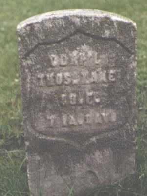 KANE, THOMAS - Cook County, Illinois | THOMAS KANE - Illinois Gravestone Photos