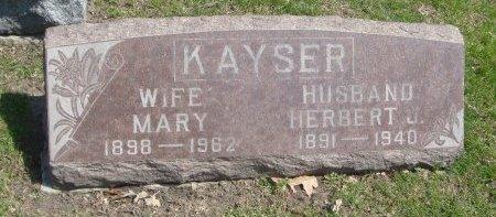 KAYSER, HERBERT J. - Cook County, Illinois   HERBERT J. KAYSER - Illinois Gravestone Photos