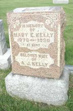 KELLEY, MARY E. - Cook County, Illinois   MARY E. KELLEY - Illinois Gravestone Photos