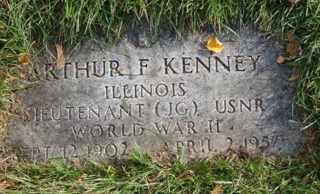 KENNEY, ARTHUR F. - Cook County, Illinois   ARTHUR F. KENNEY - Illinois Gravestone Photos