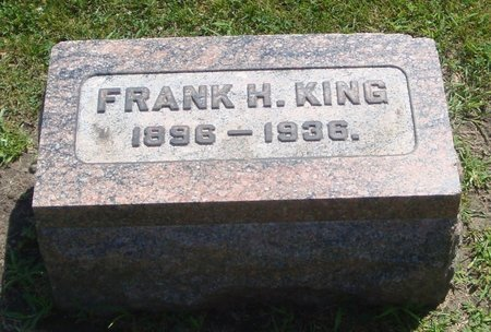KING, FRANK H. - Cook County, Illinois | FRANK H. KING - Illinois Gravestone Photos
