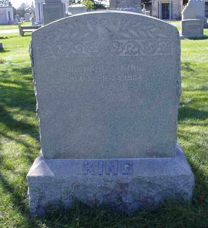 KING, RICHARD H. - Cook County, Illinois   RICHARD H. KING - Illinois Gravestone Photos