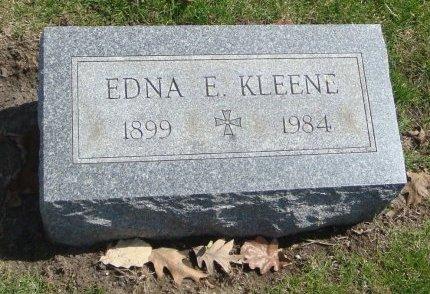 KLEENE, EDNA E. - Cook County, Illinois | EDNA E. KLEENE - Illinois Gravestone Photos