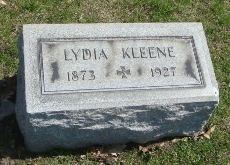 KLEENE, LYDIA - Cook County, Illinois | LYDIA KLEENE - Illinois Gravestone Photos