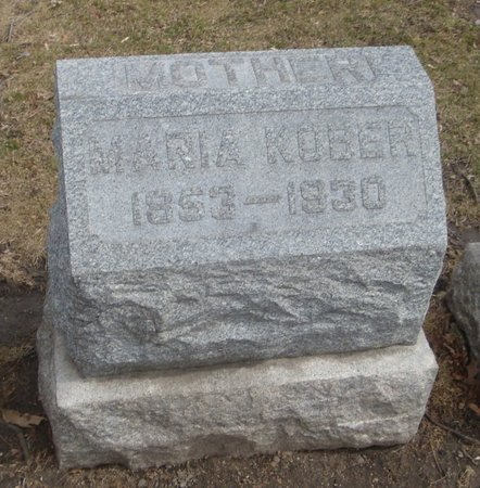 KOBER, MARIA - Cook County, Illinois   MARIA KOBER - Illinois Gravestone Photos