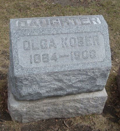 KOBER, OLGA - Cook County, Illinois | OLGA KOBER - Illinois Gravestone Photos