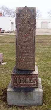 KOBLER, AUGUST - Cook County, Illinois | AUGUST KOBLER - Illinois Gravestone Photos
