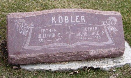 KOBLER, WILHELMINE P. - Cook County, Illinois   WILHELMINE P. KOBLER - Illinois Gravestone Photos