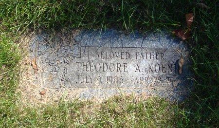 KOENIG, THEODORE A. - Cook County, Illinois | THEODORE A. KOENIG - Illinois Gravestone Photos