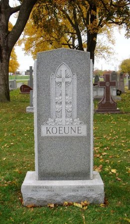 KOEUNE, EUGENE N. SR. - Cook County, Illinois | EUGENE N. SR. KOEUNE - Illinois Gravestone Photos