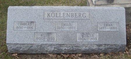 KOLLENBERG, EMMA - Cook County, Illinois | EMMA KOLLENBERG - Illinois Gravestone Photos