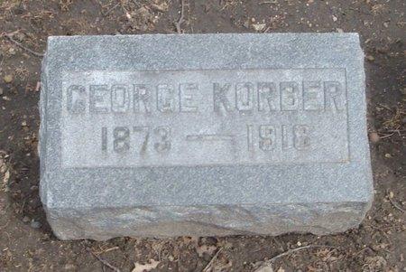 KORBER, GEORGE - Cook County, Illinois | GEORGE KORBER - Illinois Gravestone Photos
