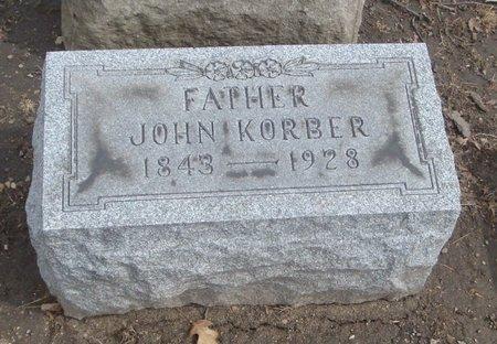 KORBER, JOHN - Cook County, Illinois | JOHN KORBER - Illinois Gravestone Photos