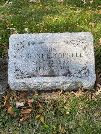 KORRELL, AUGUST - Cook County, Illinois | AUGUST KORRELL - Illinois Gravestone Photos