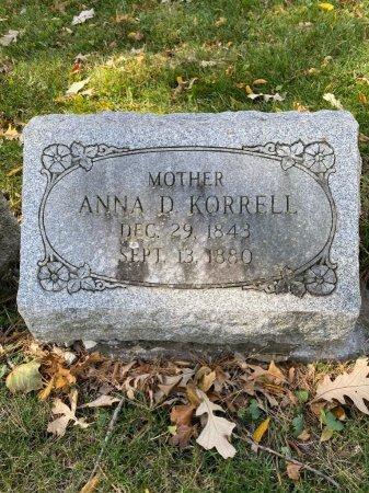 MIELKE KORRELL, ANNA DOROTHEA - Cook County, Illinois | ANNA DOROTHEA MIELKE KORRELL - Illinois Gravestone Photos