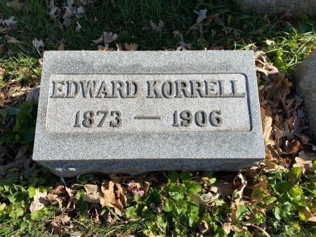 KORRELL, EDWARD - Cook County, Illinois | EDWARD KORRELL - Illinois Gravestone Photos