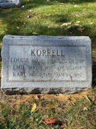 KORRELL, KARL - Cook County, Illinois | KARL KORRELL - Illinois Gravestone Photos