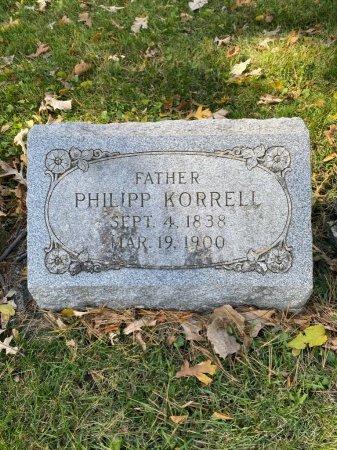 KORRELL, PHILIPP - Cook County, Illinois   PHILIPP KORRELL - Illinois Gravestone Photos