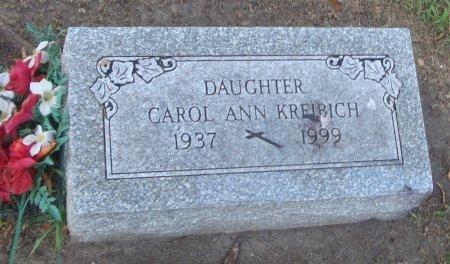 KREIBICH, CAROL ANN - Cook County, Illinois | CAROL ANN KREIBICH - Illinois Gravestone Photos