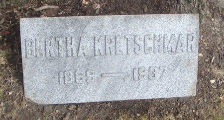KRETSCHMAR, BERTHA - Cook County, Illinois | BERTHA KRETSCHMAR - Illinois Gravestone Photos