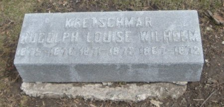 KRETSCHMAR, WILHELM - Cook County, Illinois | WILHELM KRETSCHMAR - Illinois Gravestone Photos