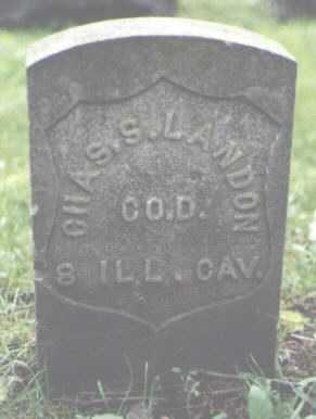 LANDON, CHARLES S. - Cook County, Illinois | CHARLES S. LANDON - Illinois Gravestone Photos