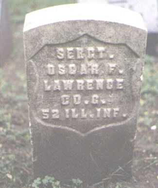 LAWRENCE, OSCAR F. - Cook County, Illinois | OSCAR F. LAWRENCE - Illinois Gravestone Photos