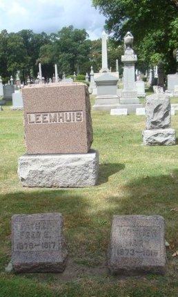 LEEMHUIS, FRED E. - Cook County, Illinois | FRED E. LEEMHUIS - Illinois Gravestone Photos