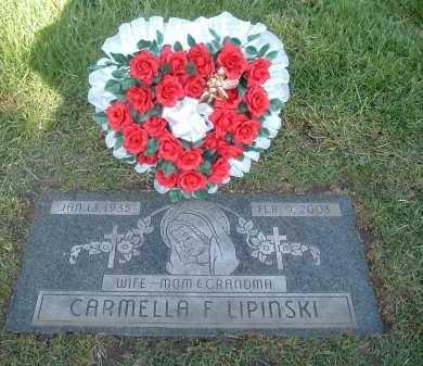 LAPHEN LIPINSKI, CARMELLA - Cook County, Illinois   CARMELLA LAPHEN LIPINSKI - Illinois Gravestone Photos