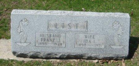 LIST, IDA L. - Cook County, Illinois | IDA L. LIST - Illinois Gravestone Photos