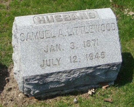 LITTLEWOOD, SAMUEL A. - Cook County, Illinois | SAMUEL A. LITTLEWOOD - Illinois Gravestone Photos
