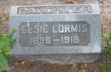 LORMIS, ELSIE - Cook County, Illinois   ELSIE LORMIS - Illinois Gravestone Photos