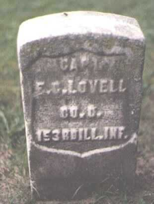 LOVELL, E. C. - Cook County, Illinois   E. C. LOVELL - Illinois Gravestone Photos