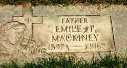 MACKINEY, EMILE - Cook County, Illinois | EMILE MACKINEY - Illinois Gravestone Photos