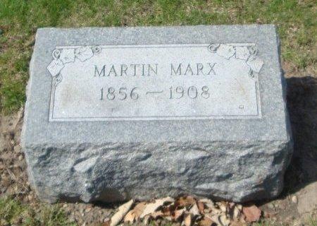 MARX, MARTIN - Cook County, Illinois   MARTIN MARX - Illinois Gravestone Photos
