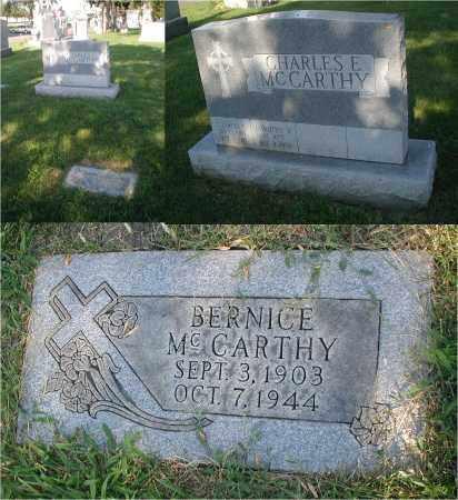 MCCARTHY, BERNICE - Cook County, Illinois | BERNICE MCCARTHY - Illinois Gravestone Photos