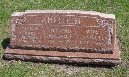 AHLGRIM, ANNA L. - Cook County, Illinois | ANNA L. AHLGRIM - Illinois Gravestone Photos