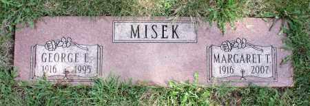 MISEK, MARGARET T. - Cook County, Illinois | MARGARET T. MISEK - Illinois Gravestone Photos
