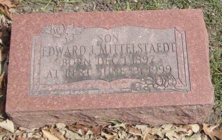 MITTELSTAEDT, EDWARD J. - Cook County, Illinois   EDWARD J. MITTELSTAEDT - Illinois Gravestone Photos