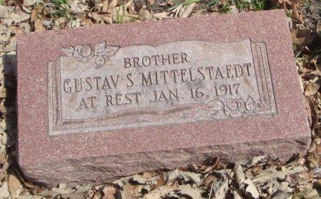 MITTELSTAEDT, GUSTAV S. - Cook County, Illinois   GUSTAV S. MITTELSTAEDT - Illinois Gravestone Photos