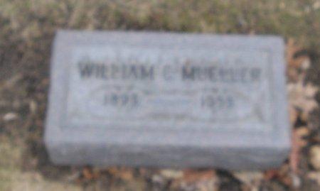 MUELLER, WILLIAM C. - Cook County, Illinois | WILLIAM C. MUELLER - Illinois Gravestone Photos