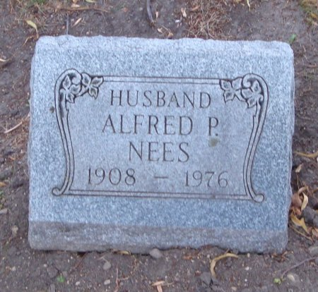 NEES, ALFRED P. - Cook County, Illinois   ALFRED P. NEES - Illinois Gravestone Photos