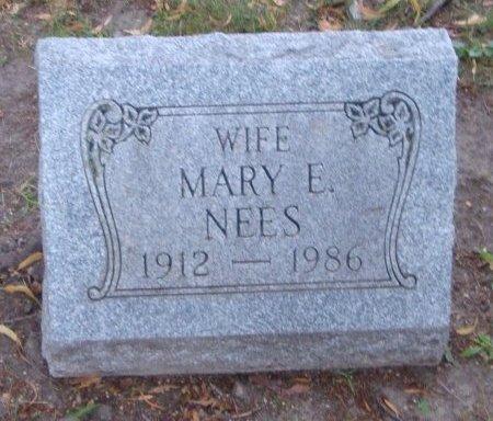 NEES, MARY E. - Cook County, Illinois | MARY E. NEES - Illinois Gravestone Photos