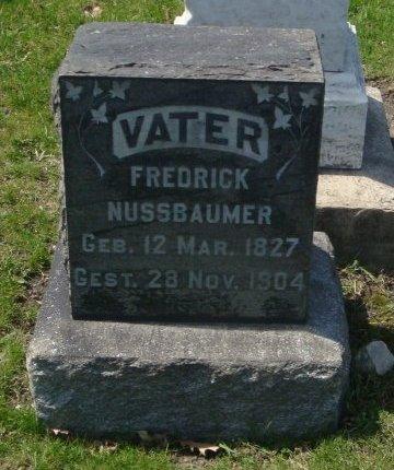 NUSSBAUMER, FREDRICK - Cook County, Illinois | FREDRICK NUSSBAUMER - Illinois Gravestone Photos