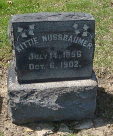 NUSSBAUMER, KITTIE - Cook County, Illinois | KITTIE NUSSBAUMER - Illinois Gravestone Photos