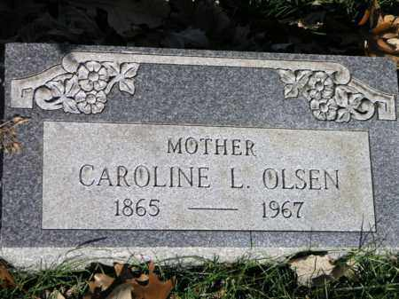 OLSON, CAROLINE L. - Cook County, Illinois   CAROLINE L. OLSON - Illinois Gravestone Photos