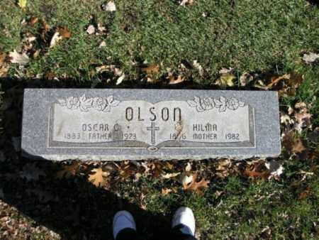 OLSON, HILMA - Cook County, Illinois | HILMA OLSON - Illinois Gravestone Photos