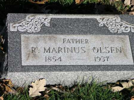 OLSON, RALPH MARINUS - Cook County, Illinois | RALPH MARINUS OLSON - Illinois Gravestone Photos