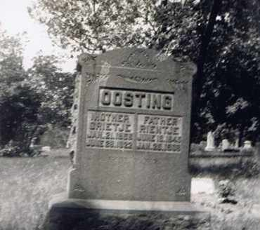 OOSTING, RIENTJE - Cook County, Illinois | RIENTJE OOSTING - Illinois Gravestone Photos